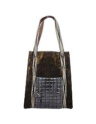 Ananaya Black Tote Bag For Women