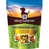 Hill's Ideal Balance Soft-Baked Naturals with Chicken and Carrots Dog Treat, NET WT 8 oz
