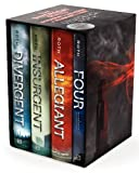 img - for Divergent Series Ultimate Four-Book Box Set: Divergent, Insurgent, Allegiant, Four book / textbook / text book