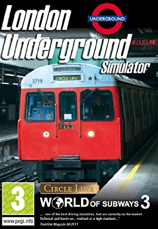 Excalibur London Underground Simulator - The Circle Line, ENG, 2000 MB, 2048 MB, 2.6 GHz, DirectX 9.0c, DVD-ROM