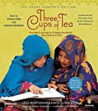 img - for Three Cups of Tea: Young Reader's Edition (Audio CD) book / textbook / text book