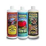 Foxfarm Trio Quarts - Big Bloom Tiger Bloom & Grow Big Hydro - 1 Quart of Each -by# floor-seats; TRYK51281951802554