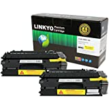 LINKYO Compatible High Yield Toner Cartridges Replacement for Canon 120 (Black, 2-Pack)