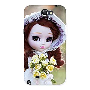 Delighted Bride Angel Doll Multicolor Back Case Cover for Galaxy Note 2