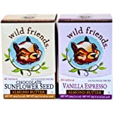 Wild Friends Almond Butter, 10, 1.15 Ounce Squeeze Packs (Pack of 2)
