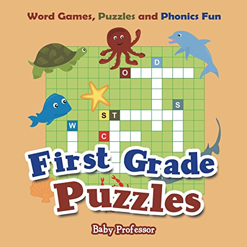 First Grade Puzzles: Word Games, Puzzles and Phonics Fun (Kid Puzzles Series) (Kids Package Books compare prices)