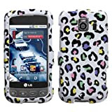 Protector Phone Cover Case for LG Optimus S / Optimus U LS670 - Color Leopa ....