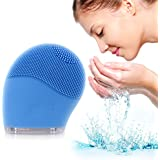 Quimat Ultrasonic Cleansing Face Massager Anti-Aging Facial Brush And Exfoliator Makeup Tool For Facial Polish...
