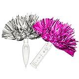 Wii Hip Street Cheer Pom Poms - Pink/Silver