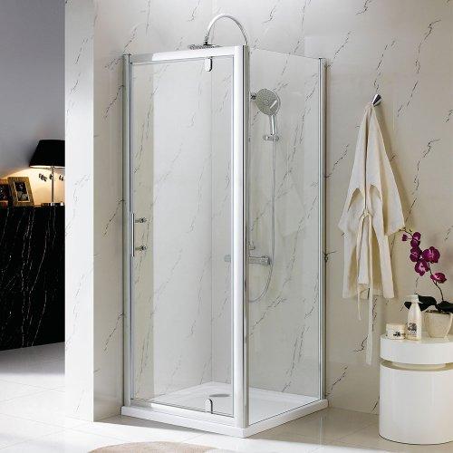 Phoenix Pivot Shower Enclosure for Corner - 800x800mm