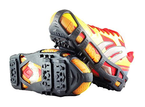 YUEDGE Walk Ice Traction Cleat For Snow And Ice -