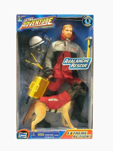 Picture of Lanard Ultra Adventure Avalanche Rescue Set Figure (B000HEG6AW) (Lanard Action Figures)
