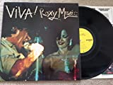 ROXY MUSIC Viva Roxy Music Live LP Vinyl GF Atco NM Bryan Ferry