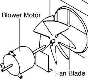 Amazon Com Fan Blade 6733 3221 For Coleman Mach Home