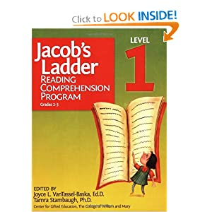 Jacob's Ladder Reading Comprehension Program, Level 1