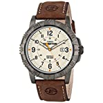 Timex Men's T499909J Expedition Rugged Metal Field Analog Display Analog Quartz Brown Watch