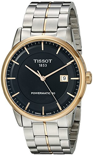 Tissot Powermatic 80 Black Dial Men's Watch #T086.407.22.051.00