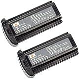 DSTE 2 x NP-E3 NPE3 Ni-MH Battery for Canon EOS 1D EOS 1D MarkII EOS 1D MarkII N EOS 1DS EOS 1DS MarkII Camera
