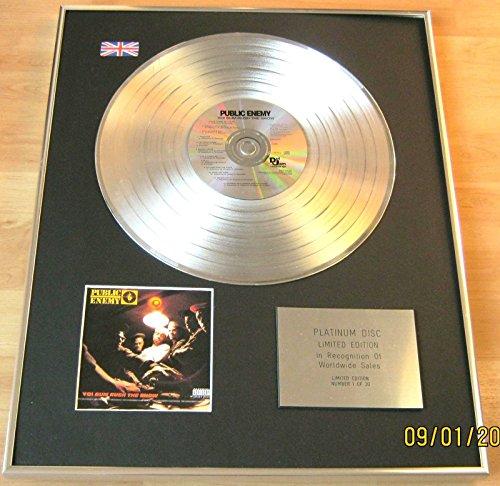 Nemico Pubblico-CD platinum disc-yo. Bum Rush Lo spettacolo