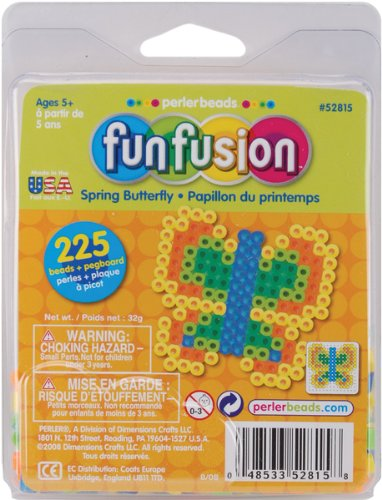 Perler Activity Trial Size Kits-Spring Butterfly - 1