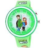 Super Drool Green Dancing Light Kids Wrist Watch