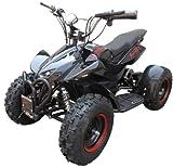 Kids Rocket Rampage Extreme 1000w Electric Battery Quad Bike 36v 1000 watt Ride On Quad Bike (Black)