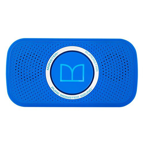 Monster Superstar Bluetooth Speaker - Neon Blue (129262)
