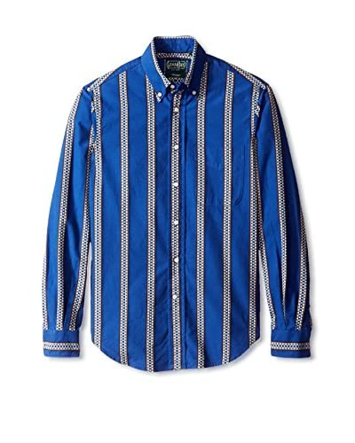 Gitman Vintage Men's Stripe Button Down Shirt