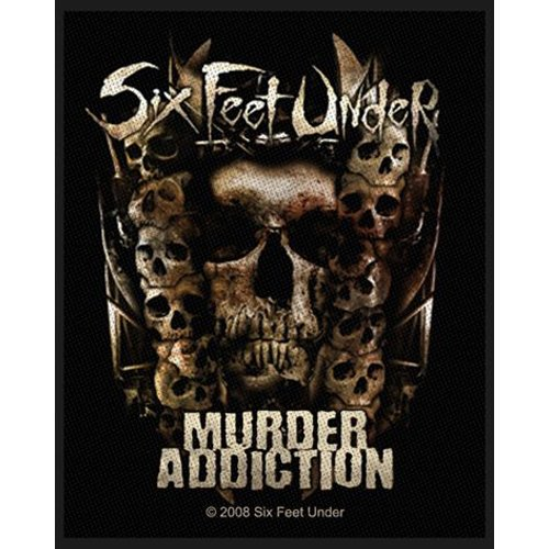 Six Feet Under - Patch Murder Addiction (in 10 cm)