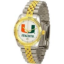 "Miami Hurricanes NCAA ""Executive"" Mens Watch"