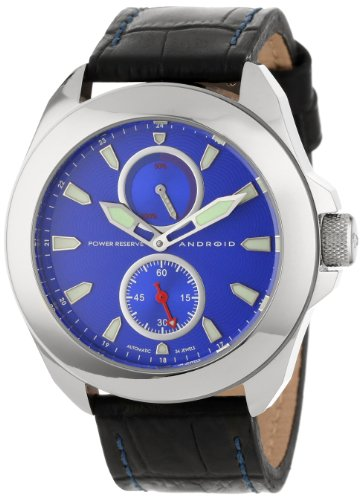 Android Men'S Ad648Abu Power Reserve 34 Jewels Automatic Watch