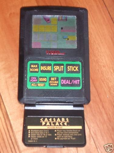 Caesars Palace Electronic Blackjack Game (1993) - 1