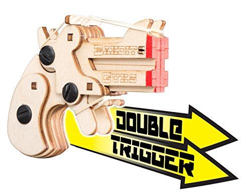 Bandit Guns Daisy Derringer Kit, Wood Finish
