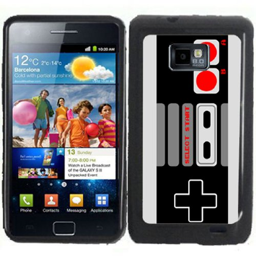 S2 Old School Gaming Controller Samsung Galaxy S2 / Sii I9100 Case Cover