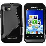 mumbi TPU Silikon Schutzhülle für Motorola Defy mini schwarz