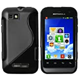Mumbi TPU Silicone Protective Phone Case for Motorola Defy Mini Black
