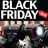 **CRAZY BLACK FRIDAY SALE** [Ultra Bright] Bike Light on Amazon - Comes With FREE TAIL LIGHT(Limited Time) - Tools-Free Installation in Seconds - The Best Headlight on Amazon - Compatible with: Mountain & Kids & Street Bicycles - Divine LEDs