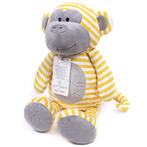 Bella Tunno Poetic Plush Animal, Wish Monkey
