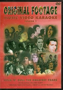 ORIGINAL FOOTAGE KARAOKE DVD #1-Rock N' Roll The Greatest Years