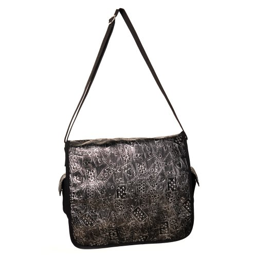 Banned Alternative Wear, Borsa a spalla uomo Nero nero