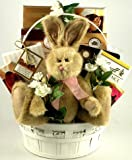 Peter Rabbit Deluxe -Gourmet Chocolates Easter Basket with Plush Bunny