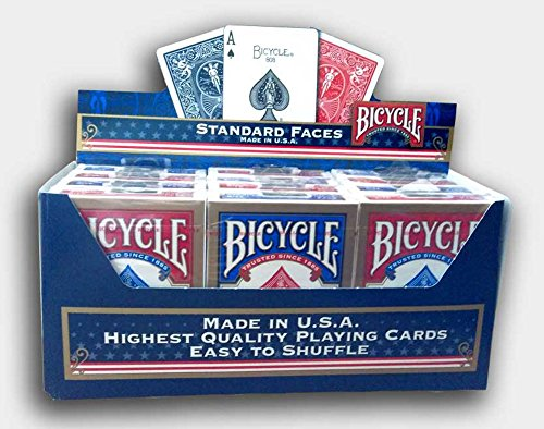 paket-von-12-pokerkarten-bicycle-standard-6-blau-6-rot