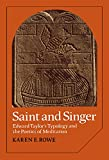 Saint and Singer: Edward Taylor's Typology and the Poetics of Meditation (Cambridge Studies in American Literature and Culture)