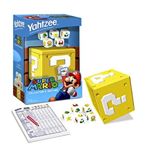 Yahtzee games: Super Mario collector's edition!
