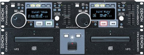 Denon DND4500 Dual CD/MP3 Player