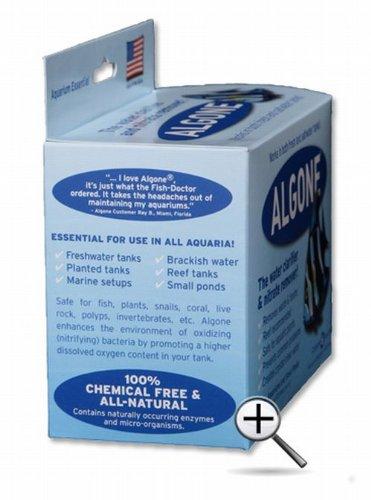 Imagen de Algone acuario agua clarificador y removedor de nitrato, pequeño