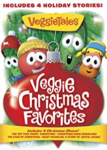 Veggie Tales Veggie Christmas Favorites by Big Idea