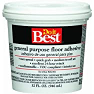 Dap 26002 General-Purpose Floor Adhesive