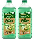 Le Chat - Eco-Efficacité - Lessive Écologique Liquide - Ecopack 1,875 L / 25 Lavages - Lot de 2