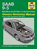 Saab 9-5 95 2.0 2.0T 2.3 2.3T & 1.9TiD Diesel Linear Sep 2005 - Jun 2010 Haynes Manual